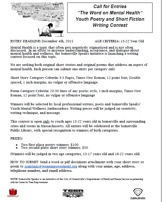 Mental Health Essay Contest Essay Sample  February    Words Mental Health Essay Contest